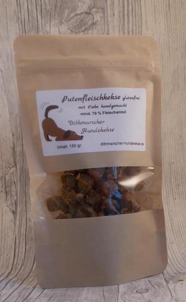 Dithmarscher Hundekekse Putenkekse glutenfrei 150 gramm