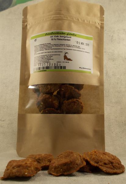 Dithmarscher Hundekekse - Putenfleischbrocken glutenfrei - 60 gramm - Bild 2