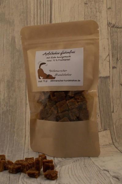 Dithmarscher Hundekekse Apfelkekse glutenfrei 75 gramm